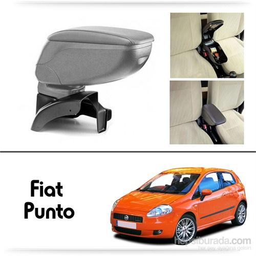 Schwer Fiat Grand Punto Koltuk Arası GRİ Kol Dayama Kolçağı-8462