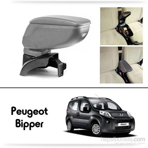 Schwer Peugeot Bipper Koltuk Arası GRİ Kol Dayama Kolçağı-8490