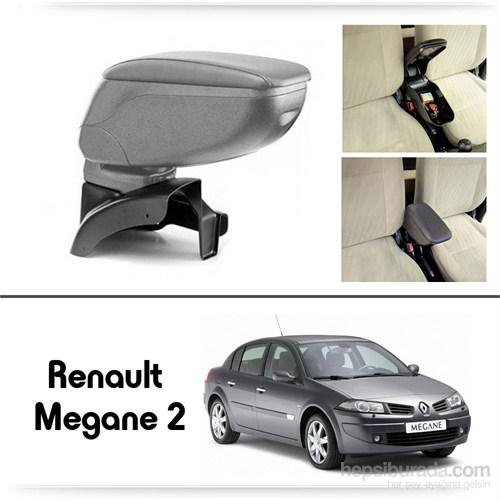 Schwer Renault Megane 2 Koltuk Arası GRİ Kol Dayama Kolçağı-8494