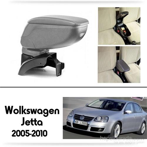 Schwer Volkwagen Jetta 2005-2010 Koltuk Arası GRİ Kol Dayama Kolçağı-8501
