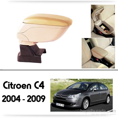 Schwer Citroen C4 2004-2009 Koltuk Arası BEJ Kol Dayama Kolçağı-8505