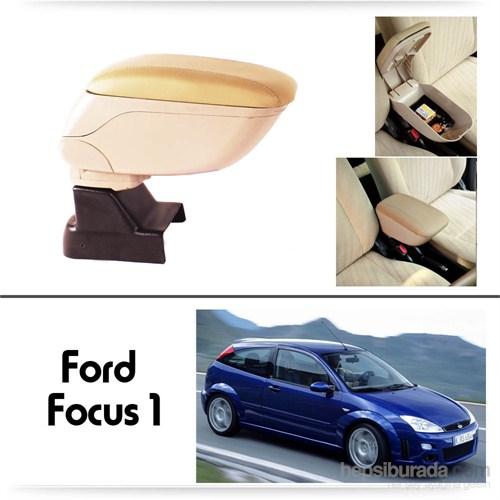 Schwer Ford Focus 1 Koltuk Arası BEJ Kol Dayama Kolçağı-8515
