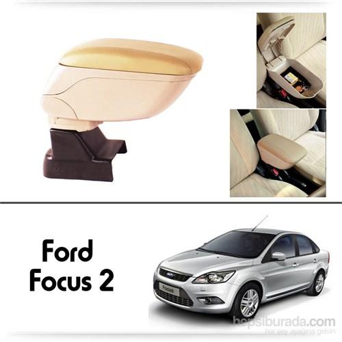 Schwer Ford Focus 2 Koltuk Arası BEJ Kol Dayama Kolçağı-8516