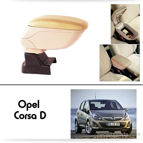 Schwer Opel Corsa D Koltuk Arası BEJ Kol Dayama Kolçağı-8532
