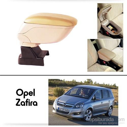 Schwer Opel Zafira Koltuk Arası BEJ Kol Dayama Kolçağı-8533