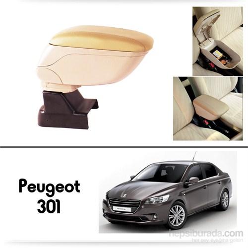 Schwer Peugeot 301 Koltuk Arası BEJ Kol Dayama Kolçağı-8536