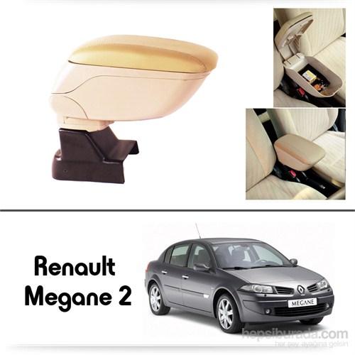 Schwer Renault Megane 2 Koltuk Arası BEJ Kol Dayama Kolçağı-8542