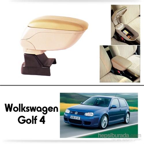 Schwer Volkwagen Golf 4 Koltuk Arası BEJ Kol Dayama Kolçağı-8547