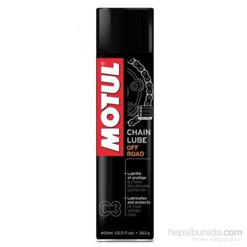Motul Zincir Yağı - Off Road Kullanım - 400 ml (C3)