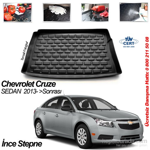 Chevrolet Cruze Sedan Bagaj Havuzu 2013 İnce İ.