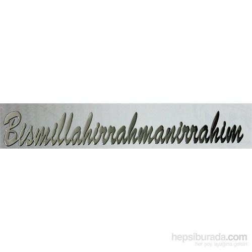 ModaCar Metal Yazı BİSMİLLAHIRRAHMANIRRAHIM 81b080