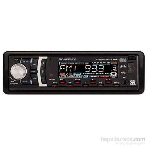 Kamosonic KS-5091 Oto Radyo CD Çalar
