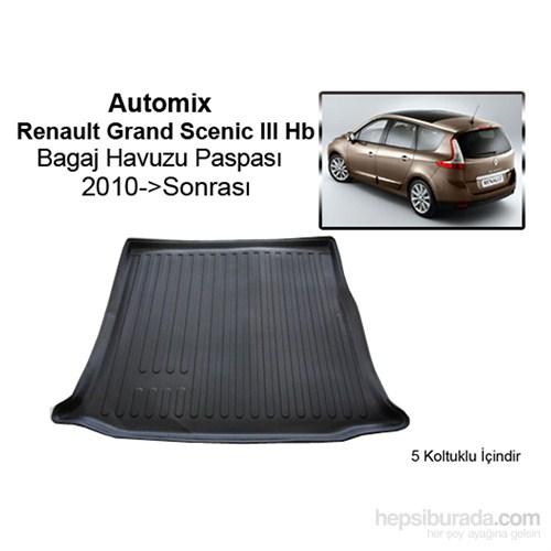 Renault Grand Scenic 3 Bagaj Havuzu 2010-2011