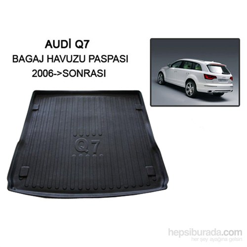Audi Q7 Suv Bagaj Havuzu 2006 Sonrası