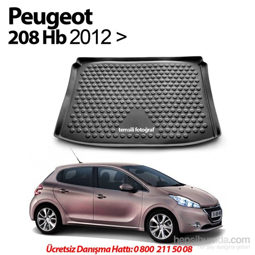 Peugeot 208 Hb Bagaj Havuzu