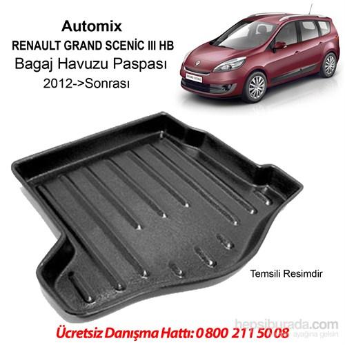 Renault Grand Scenic 3 Bagaj Havuzu 2012 Sonrası