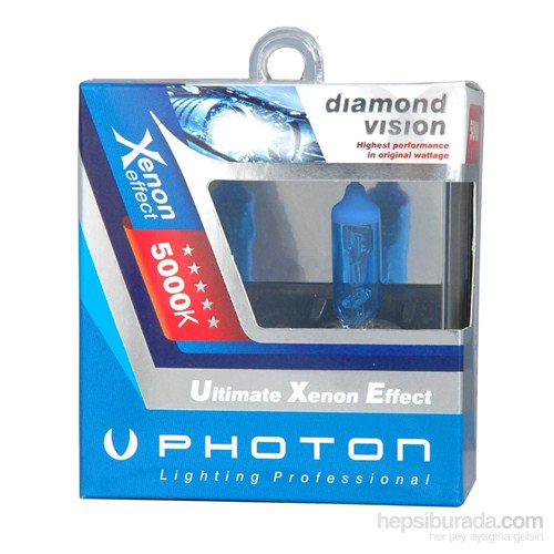 Photon Xenon Ampul 12V H8 35W 5000K PH5508 DV CD