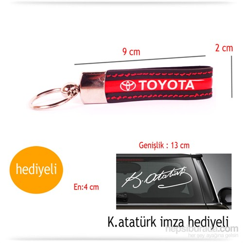 Acts Silikon Toyota Anahtarlık 8592