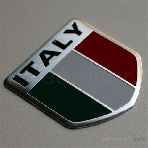 Dreamcar Italy 2 Metal Amblem