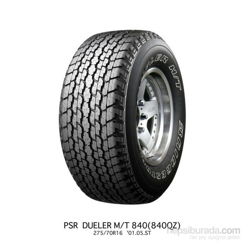 Bridgestone 275/65R17 115T H/T840 Owl Yaz Lastiği