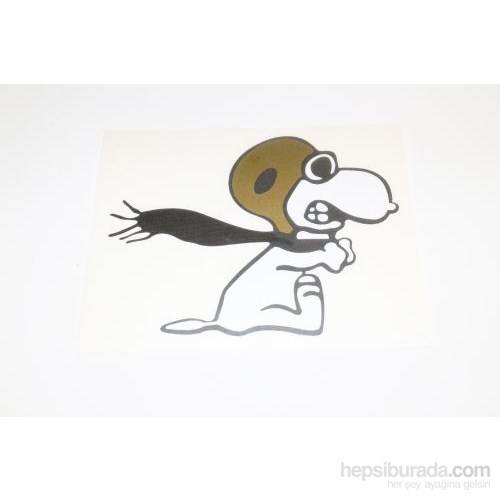 Snoopy Sticker 11 x 9 cm