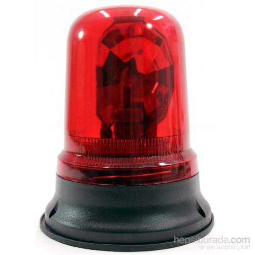 ModaCar Monteli Kırmızı Tepe Lambası 102600
