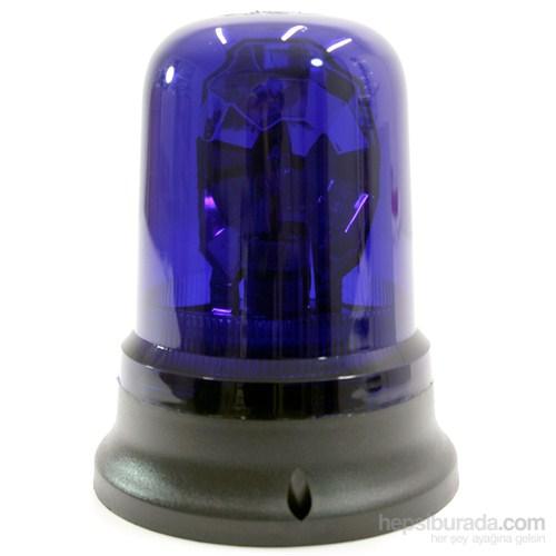 ModaCar Monte Edilen Mavi Renkli Dönerli Tepe Lambası 102601