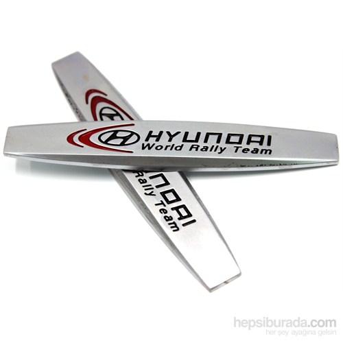 ModaCar Araç Arka ve Yan İçin Metal Hyundai Yazı 102627