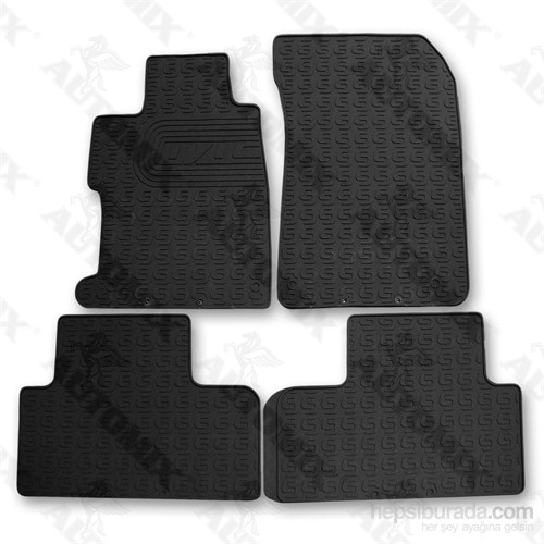 İmage Honda Civic 2012 Oto Paspas Siyah