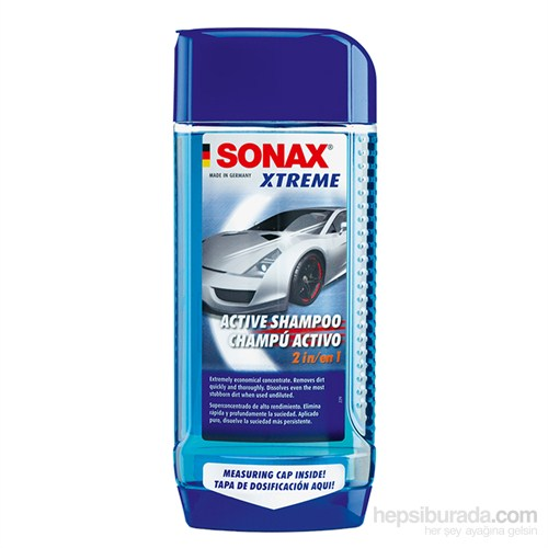 Sonax Süper Aktif Kontsantre Şampuan 214200 500ML