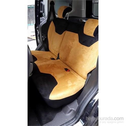 K-Design Ford Tourneo Courıer Süet Sd-Frdc Oto Koltuk Kılıfı