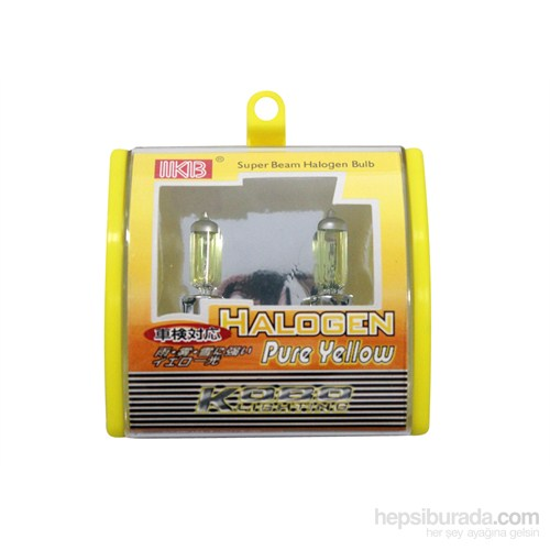 Space Halojen Ampul H9006-100 W Sarı 12V