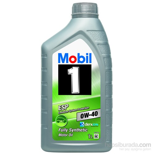 Mobil 1 ESP 0W-40 1lt DPF Uygun Benzinli Dizel Motor Yağı