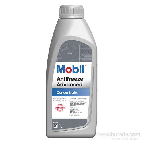Mobil Antifreeze Advanced 1lt Organik Antifiriz (OAT)