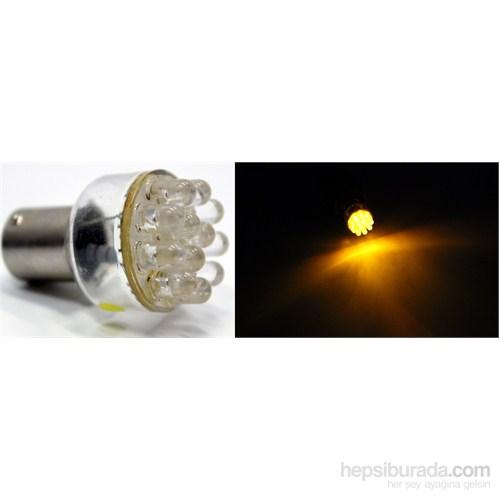 ModaCar 12 Sarı Ledli 93 Tip Stop / Sinyal Ampülü 24 volt 102895
