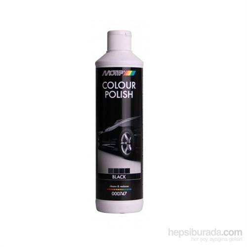 Motip Colour Polish Renklli Cila Siyah 500 Ml.