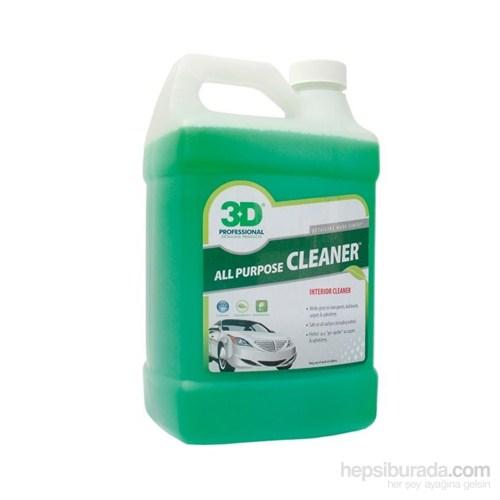 3D All Purpose Cleaner Genel Amaç Temizlik 3.78 Lt.