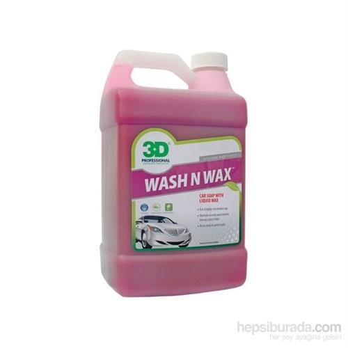 3D Wash N Wax Cilalı Şampuan 3.79 Lt.