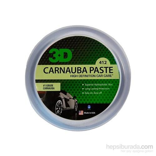 3D Carnauba Paste Wax Katı Cila