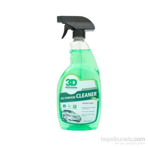 3D All Purpose Cleaner Genel Temizleyici 710 Ml.