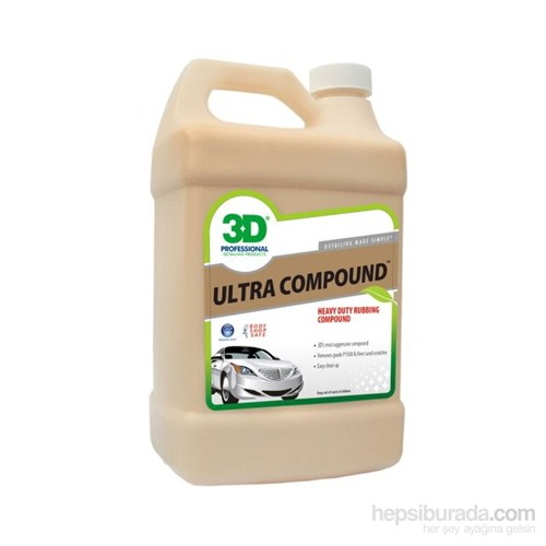 3D Ultra Compound Kalın Pasta 3.78 Lt. 435 G 01