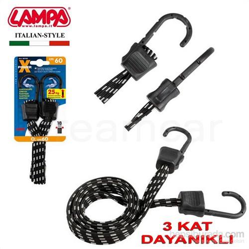 Lampa X-Power Yüksek Dayanıklılılkta Yassı Gergi Lastiği 60cm 60183