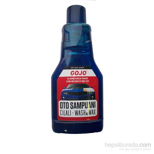 Gojo Cilalı Oto Şampuanı 1 LT