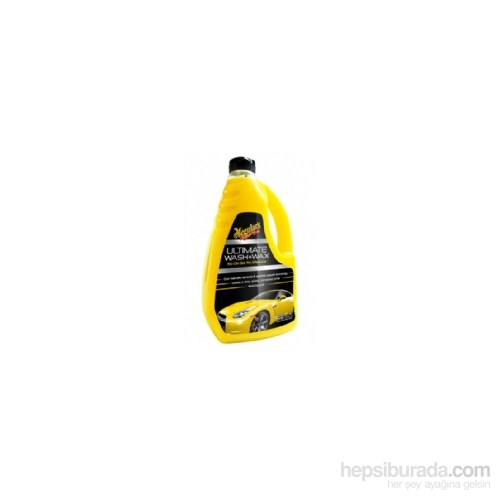 Meguiars Ultimate Wash Wax Şampuan (1,42 Lt)