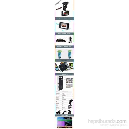 Techsmart Ghk-1006 Sd Kart Girişli Hd Araç İçi Kamera