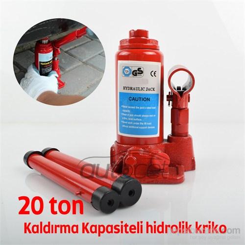 Schwer Hidrolik Kriko 20 Ton Kaldırma Kapasiteli 9412