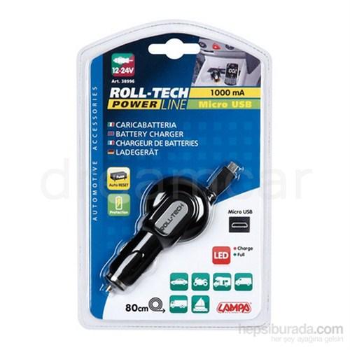 Lampa Roll-Tech Micro USB Araç Şarjı 1000mA-5V 38996