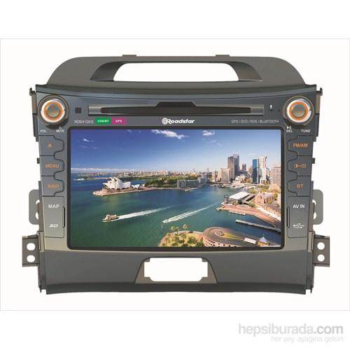 """Roadstar RD9410KS 8"""" Kia Sportage Uyumlu Dokunmatik Ekranlı Navigasyonlu Multimedya Sistemi"""