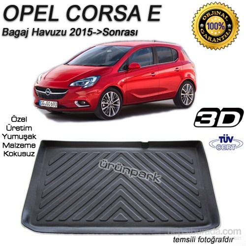 Opel Corsa E Bagaj Havuzu Corsa E Bagaj Paspası 2015 Sonrası