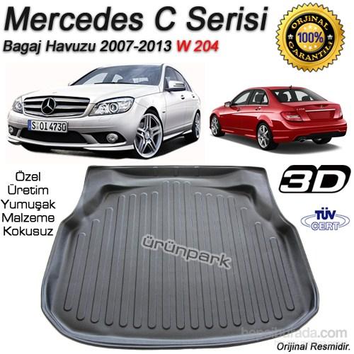 Mercedes C Serisi Bagaj Havuzu Paspası 2008-2014 Arası